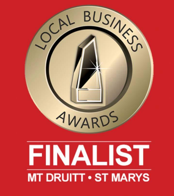 VDM&Thorn Local Business Awards Finalist 2021